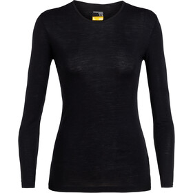 Icebreaker 175 Everyday LS Crew Top Women, black